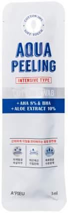 Палочка-пилинг для лица A'PIEU Aqua Peeling Cotton Swab Intensive 3 мл