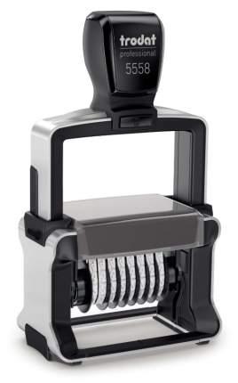 Нумератор Trodat Professional Line 5558. 8 разрядов. Высота шрифта: 5 мм