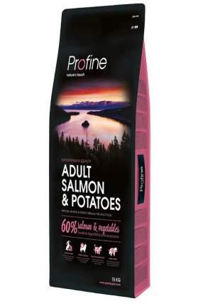 Сухой корм для собак Profine Adult Salmon & Potatoes, лосось, картофель, 15кг