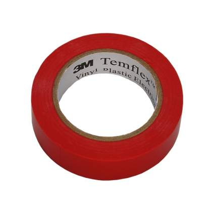 Изолента 3M TEMFLEX 1300 RED 15MM