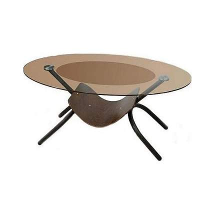 Журнальный стол Мебелик 110х70х50 см, черный