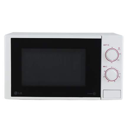 Микроволновая печь соло LG MS20F23D black/white