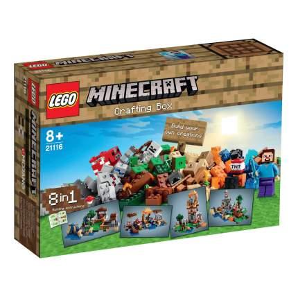 Конструктор LEGO Minecraft Верстак (21116)