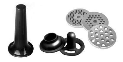Электромясорубка Redmond RMG-1216 Black/Silver