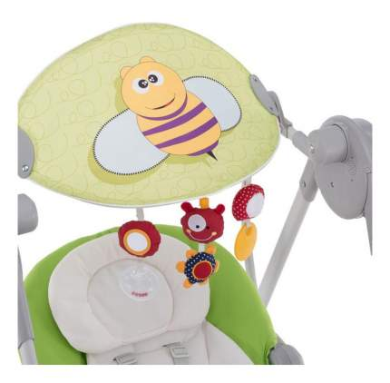Качели Chicco Polly Swing Up зеленые 7911051
