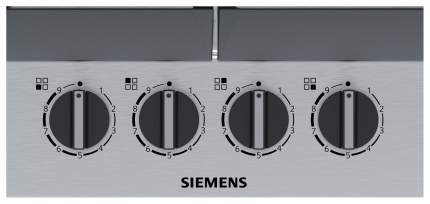Встраиваемая варочная панель газовая Siemens EC6A5PB90R Silver