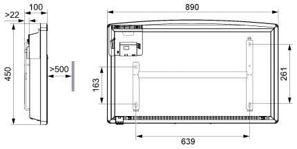 Конвектор AEG WKL 2503 S 221003 Белый