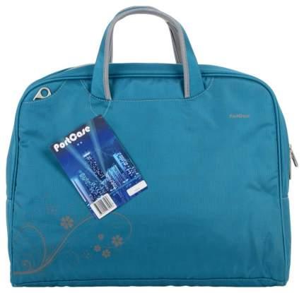 "Сумка для ноутбука 15"" PortCase KCB-51 голубая"