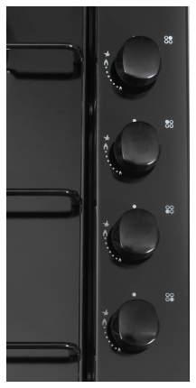 Встраиваемая варочная панель газовая Candy CLG 64 SPN Black