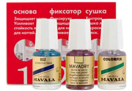 Набор для ухода за ногтями MAVALA Комплекс 3