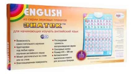 Интерактивный плакат Знаток English