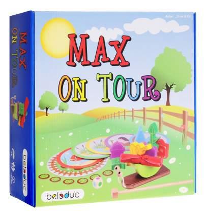 Семейная настольная игра Beleduc Путешествие Макса