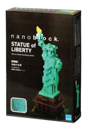 Конструктор пластиковый Nanoblock Статуя Свободы