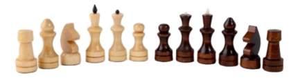 Настольная игра Шахматы обиходные деревянные Р-4 511853