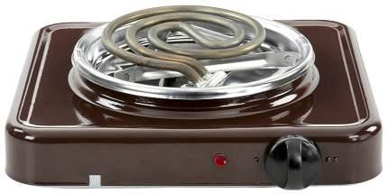 Настольная электрическая плитка Пскова ЭПТ-1/1,0-220 коричневая