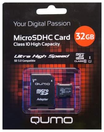 Карта памяти QUMO Micro SDHC QM32GMICSDHC10U1 32GB