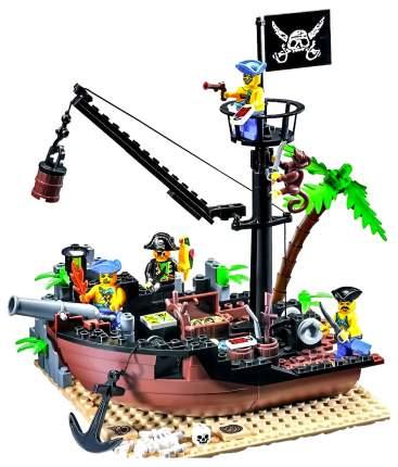 Конструктор Brick Разбитый корабль 178 деталей BRICK306