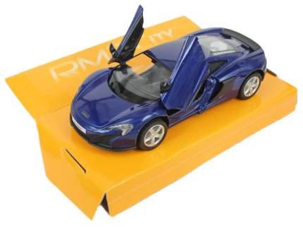 Машина металлическая RMZ City 1:32 McLaren 650S, инерционная, цвет синий 554992-BLU