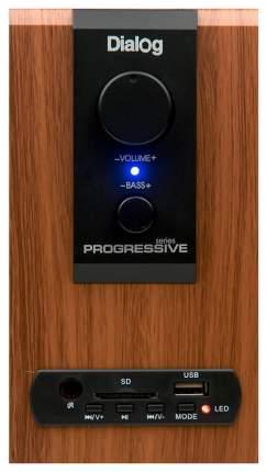 Колонки 2.1 Dialog Progressive AP-150 Коричневые