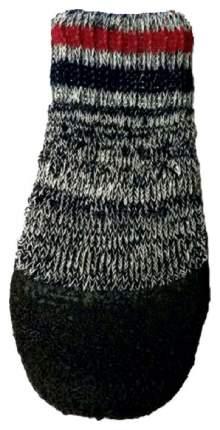 Носки для собак БАРБОСки размер M, 4 шт серый