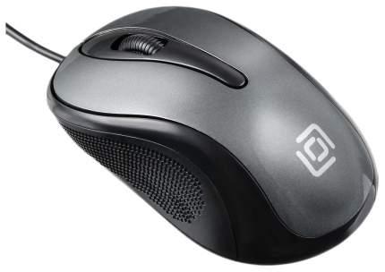 Проводная мышка OKLICK 385M Grey/Black