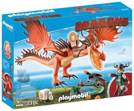 Игровой набор Playmobil Драконы: Сморкала и Криволык