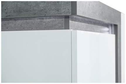 Платяной шкаф Любимый Дом LD_56658 55х37х200, белый/серый