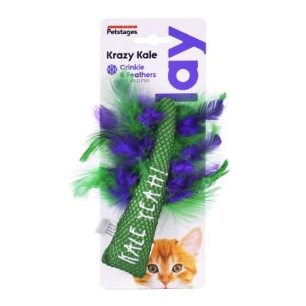Игрушка для кошек Petstages Dental Капуста с кошачьей мятой, 25 г, 8,9х2,5 см
