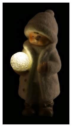 Фигурка новогодняя Lefard Детишки в снегу 248-024