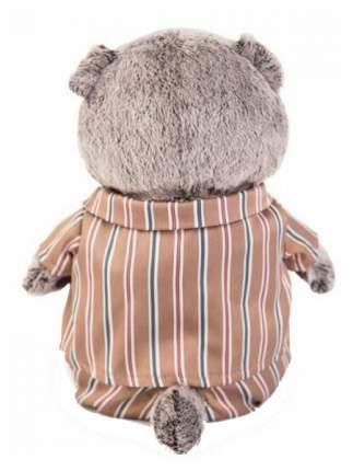 """Мягкая игрушка """"Басик"""" в шёлковой пижамке, 19 см Басик и Ко"""