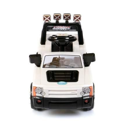 Детский электромобиль джип Barty Land Rover ZPV005 красный, Белый