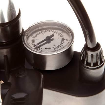 Насос ручной напольный с манометром PF-305AM серебристый