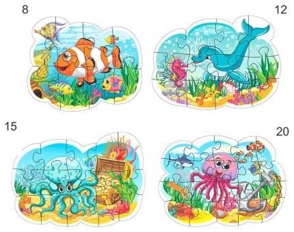 Контурный пазл Белфарпост Подводный мир