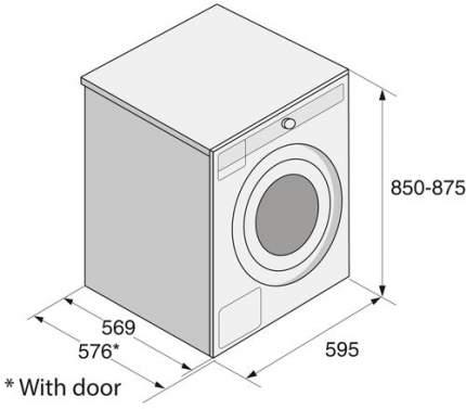 Стиральная машина ASKO W4086C.W/1 WM75.16800