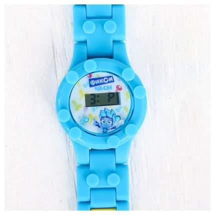 Часы наручные лего, ФИКСИКИ Нолик, с ремешком-конструктором Sima-Land