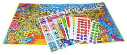 Семейная настольная игра Origami Здравствуй Россия