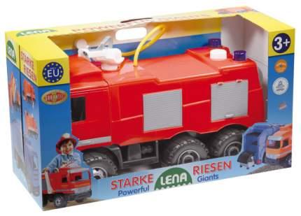 Машина Пожарная Mercedes в подарочной упаковке, 65 см 02028, Лена