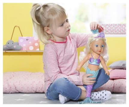 Кукла Baby born сестричка Русалочк, 43 см Zapf Creation 824-344