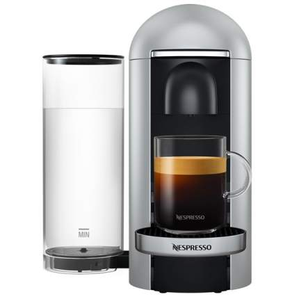 Кофемашина капсульного типа Nespresso Vertuo GCB2 EU Silver