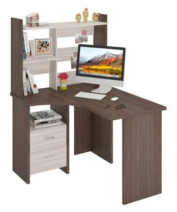 Компьютерный стол Мэрдэс коричневый