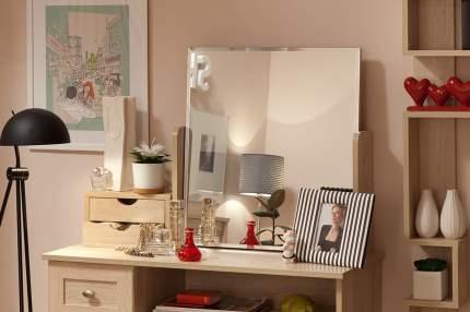 Зеркало настольное Hoff Трюмо 80286566 58,6х61,4 см, дуб сонома
