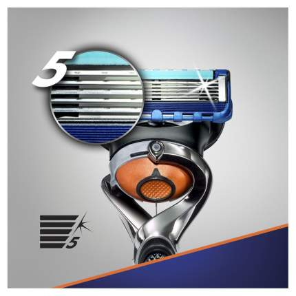 Мужская бритва Gillette Fusion Proglide с 10 сменными кассетами
