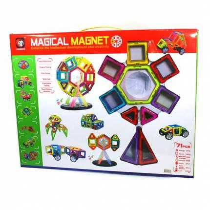 Магнитный конструктор 3D 704 Magical Magnet 71 деталь