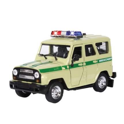 Машина инкассации Технопарк УАЗ Hunter