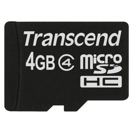 Карта памяти SDHC Micro Transcend TS4GUSDC4