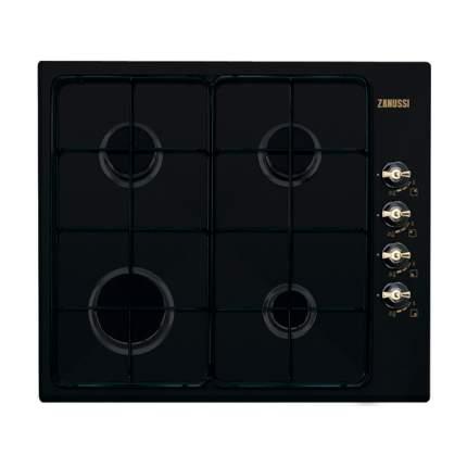 Встраиваемая варочная панель газовая Zanussi ZGG62414CA Black