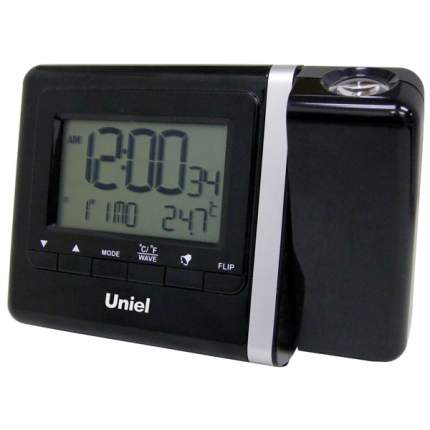 Часы-будильник Uniel UTP-80K Black UTP80K