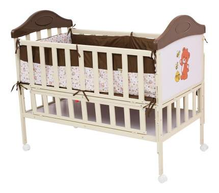 Кроватка BabyHit Sleepy extend-coffee 120x60