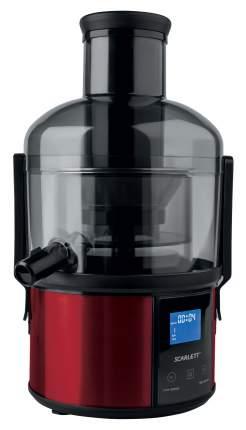 Соковыжималка центробежная Scarlett SC-JE50S32 red/black