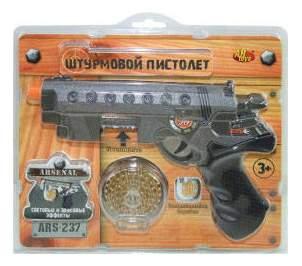 Пистолет штурмовой эл мех.,со световыми и звуковыми эффектами